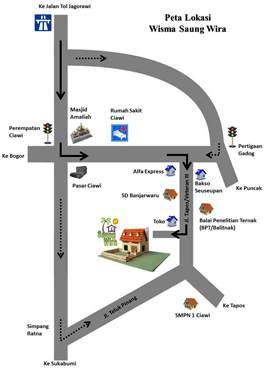 PetaLokasiSaungWira